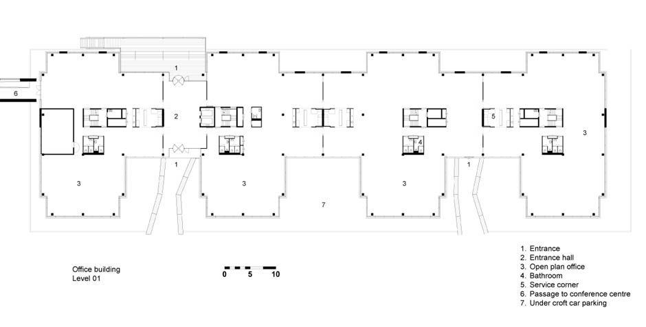 W1985_plattegrond kantoren